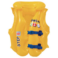 Inflatable Childrens Swim Vest