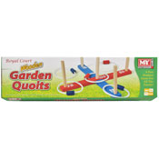 Wooden Garden Quoits In Colour Box