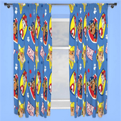 Paw Patrol 'Pawsome' Pencil Pleat Ready Made Curtains
