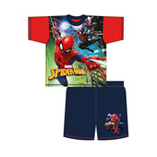 Older Boys Spiderman Evergreen Shortie Pyjamas