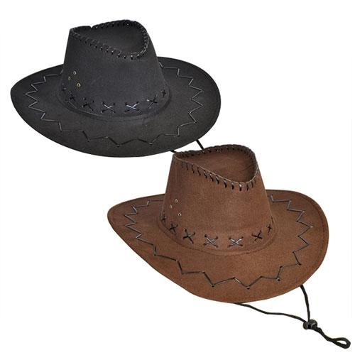 Cowboy Imitation Leather Hat