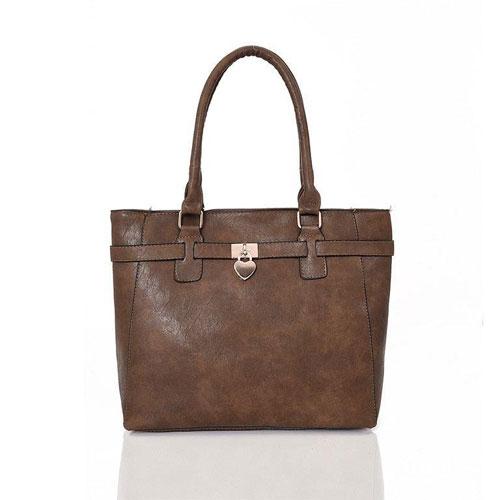 Janice Tote Bag Light Khaki