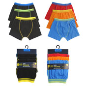 Boys Trunks With Cotton Stretch 7+ Years