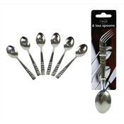 Pack of 6 Tea Spoons