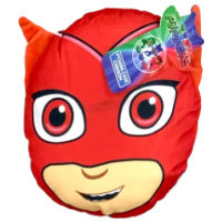 Official PJ Masks Owl Red Shaped Cushion