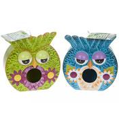 Owl Design Garden Birdhouse