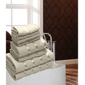 Luxurious Egyptian Cream 8 Piece Towel Bale