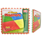 4 Piece Soft Playmats