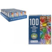 100 LED String Lights Multi Coloured