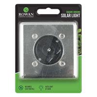 Solar Square Ground Light