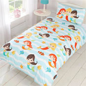 Childrens Fun Filled Bedding - Mermaid Friends