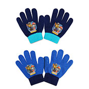 Official Childrens Boys Paw Patrol Knitted Gloves