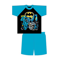 Official Boys Batman Shortie Pyjamas