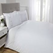 5th Avenue Duvet Set White