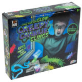 Make Your Own Glow Crawlie Clings
