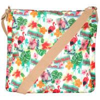 Hawaiian Print Crossbody Bag