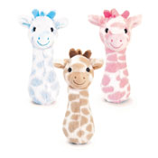 15cm Snuggle Giraffe Assorted Rattle