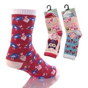 Love Birds Girls Socks