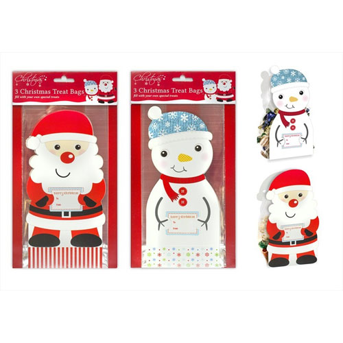 Christmas Treat Bags 3 Pack