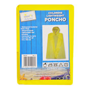 Childrens Lightweight Poncho