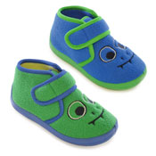 Toddler Soft Fleece Monster Boots With Strap