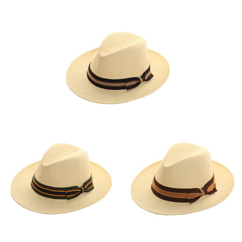 Mens Straw Fedora Hats
