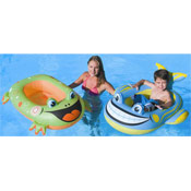 Childrens Inflatable Boat Novelty Print