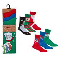 Mens Christmas Design Socks