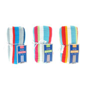 Colourful Stripe Design Beach Towels