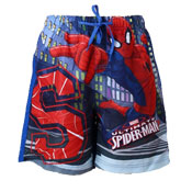 Boys Spiderman Beach Shorts