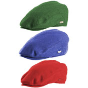 Mens Lightweight Coloured Flat Caps