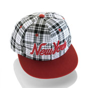 New York Snapback Baseball Caps Checkered