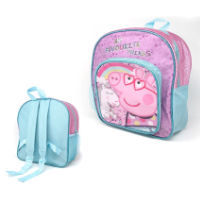 Official Peppa Pig Deluxe Glitter Backpack