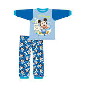 Baby Boys Mickey Mouse Snuggle Fit PJs