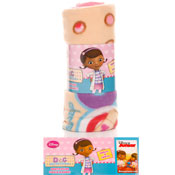 Doc Mcstuffins Fleece Blanket Throw