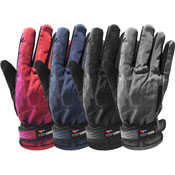 Ladies Winter Sport Glove With Gripper Palm
