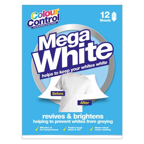 Mega White Laundry Sheets