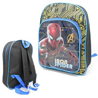 Official Deluxe Backpack Iron Spider With Pocket