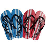 Childrens Tribal Print Flip Flops