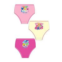 Official Girls Baby Shark Briefs 3 Pack