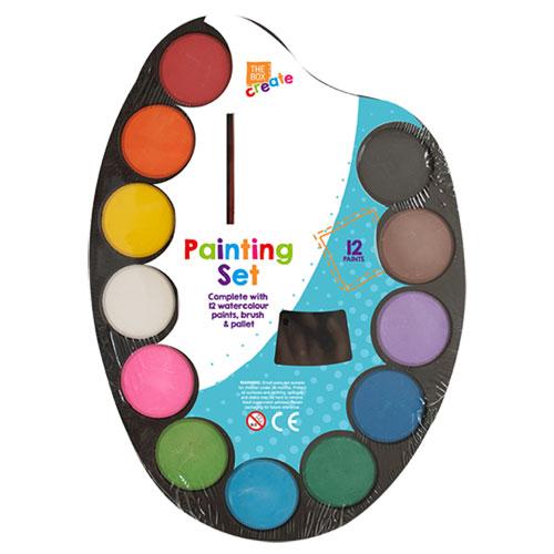 Childrens 14 Piece Painting Set