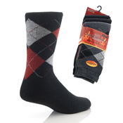 Mens Thermal Argyle Socks CARTON PRICE