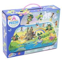 3D Summer Fairy Castle Puzzle 45 Pieces