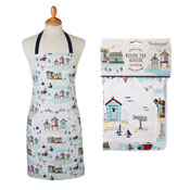 Beside The Seaside Cotton Apron
