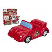Elf Free Wheel Plastic Car Red