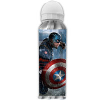 Reusable Aluminium Sports Bottle Captain America
