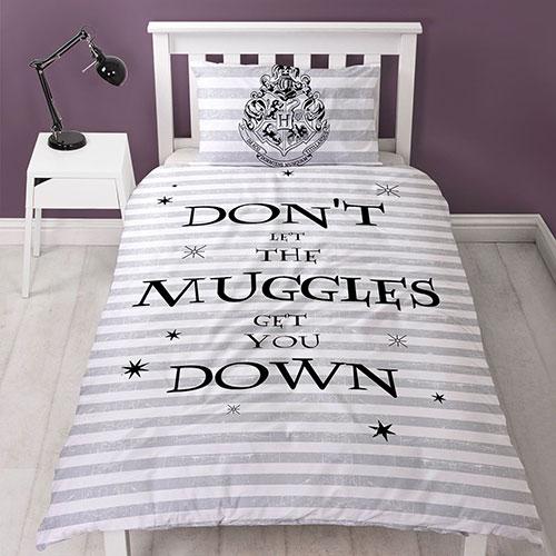 Official Harry Potter Spell Duvet Set