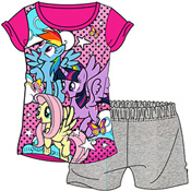 Girls My Little Pony Shortie Pyjamas Set