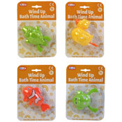 Wind Up Baby Bath Time Animals