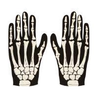 Childrens Halloween Skeleton Gloves